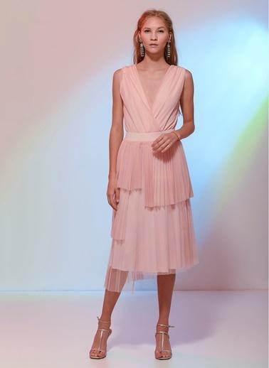 Agenda Nuray Çavuşoğlu Tasarımı Elbise Pembe